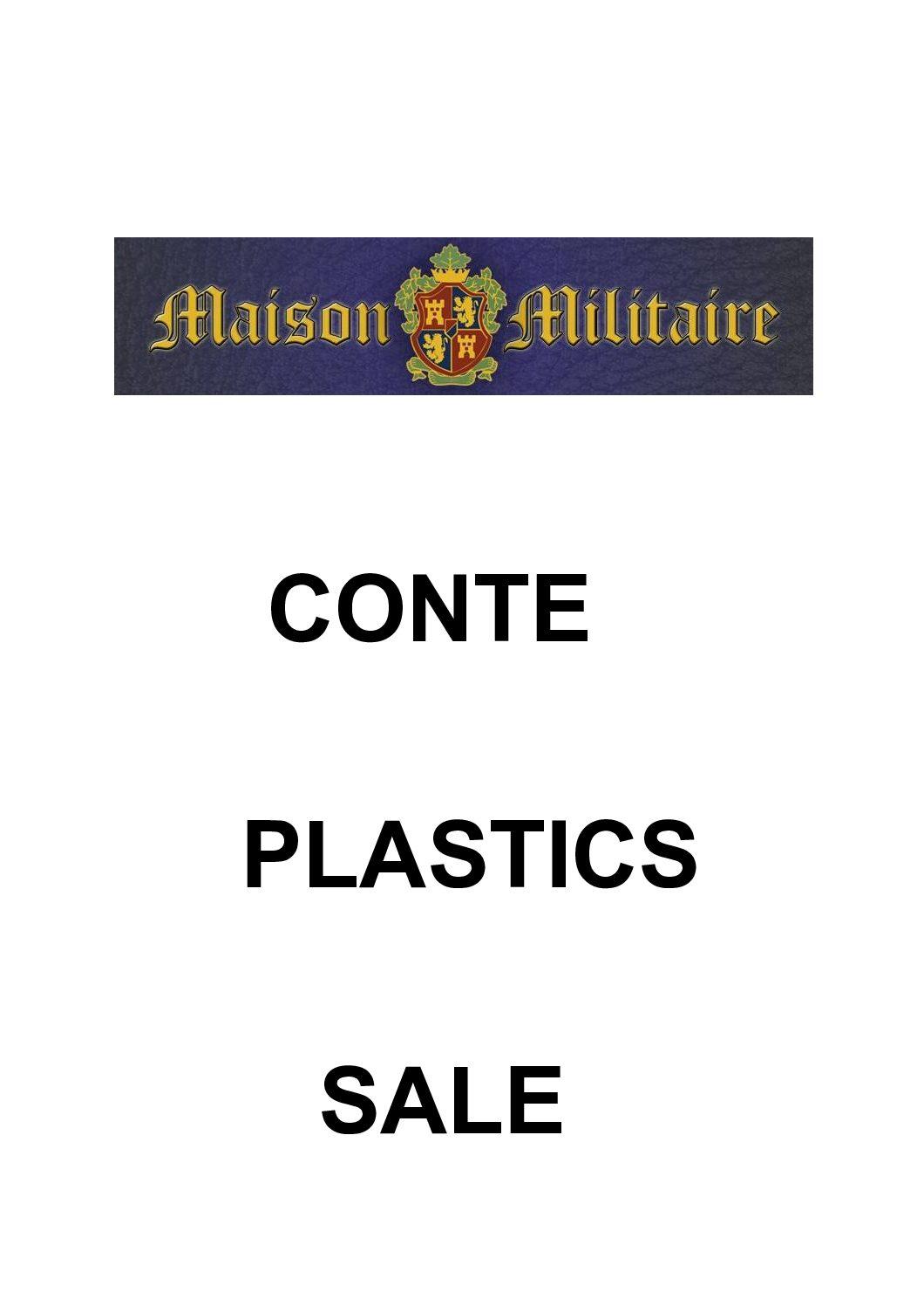 Conte Plastics 1/30th scale