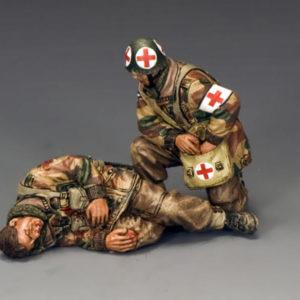 """MG056(P) """"Medic & Wounded Para"""""""