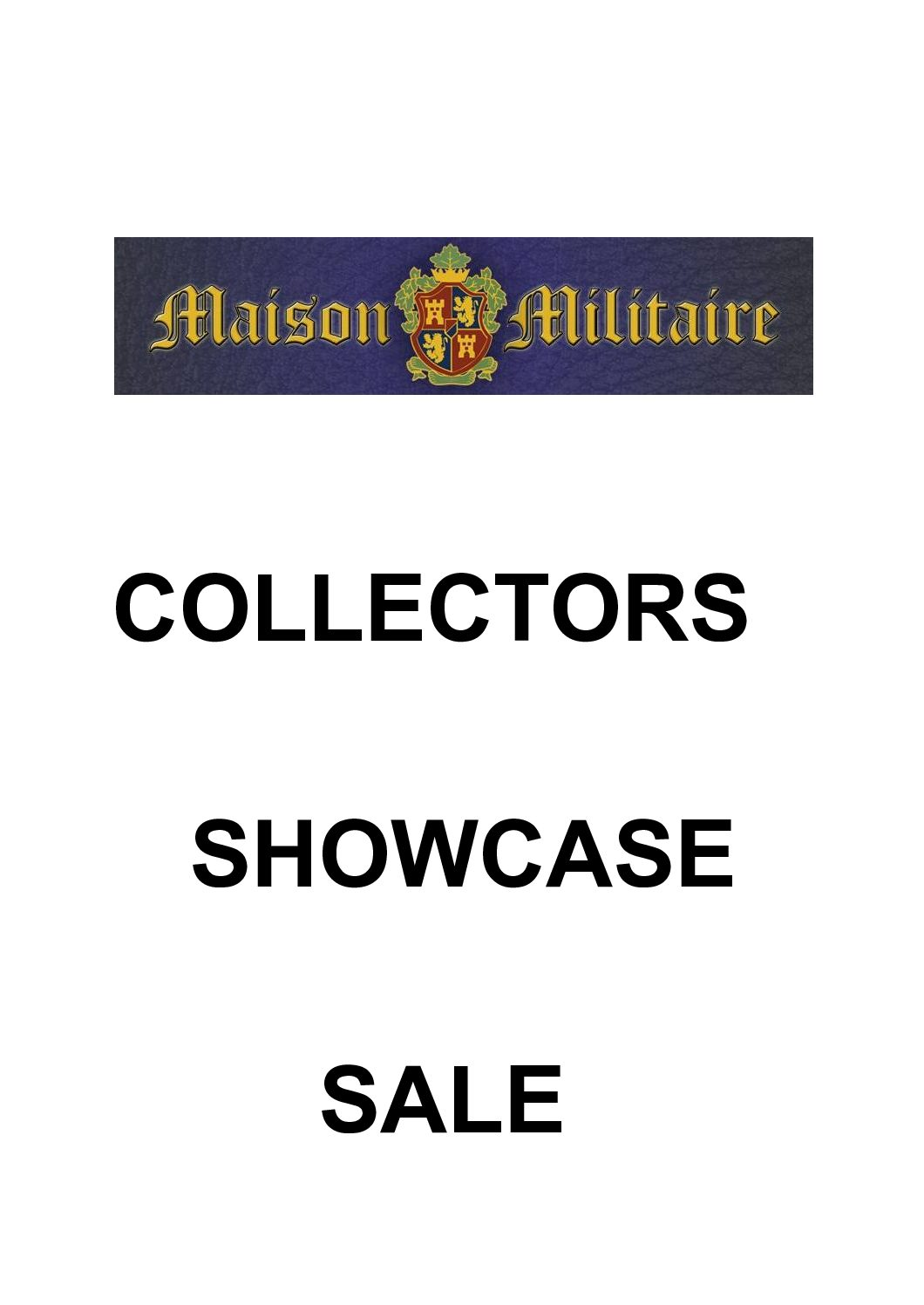 Collectors Showcase Offers