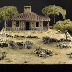 TOS193 BATTLE OF SAN JUAN HILL - DIORAMA