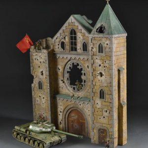 TOS233 #1 Kaiser Wilhelm Memorial Church Berlin 1945