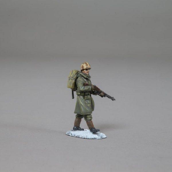 KOREA002B USMC SOLDIER WITH M3 GREASE GUN