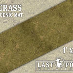MAT001 Grass Scenic Mat (1'x3')