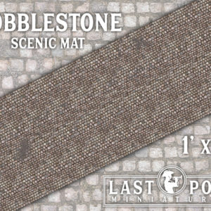 MAT003 Cobblestone Scenic Mat (1'x3')